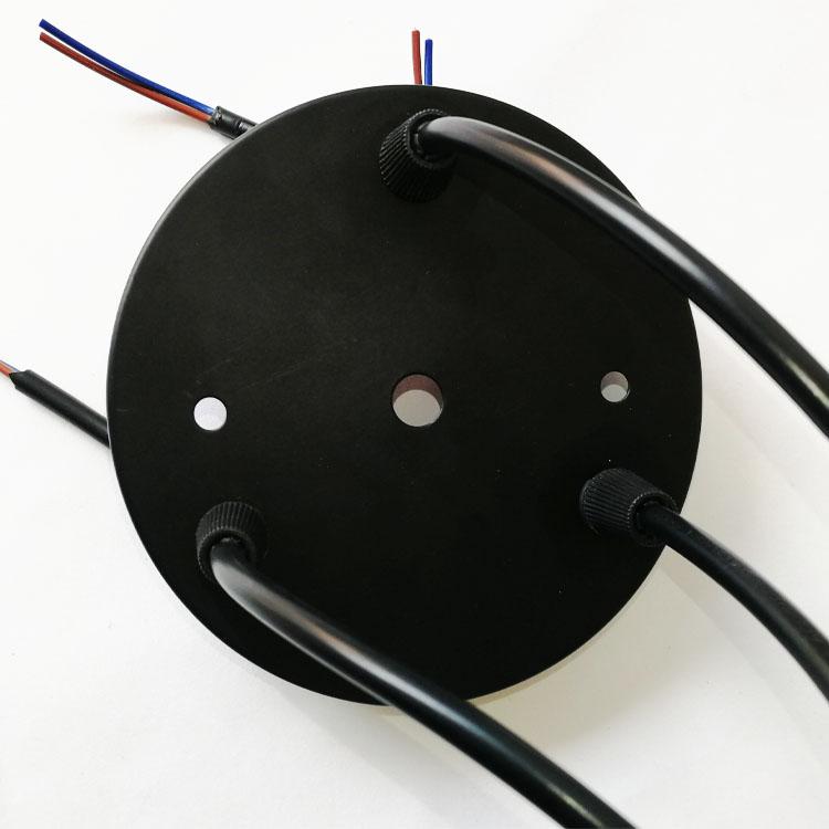 e27 three head pendant lamp holder