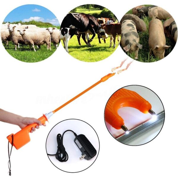 Rechargeable livestock Cattle Prod