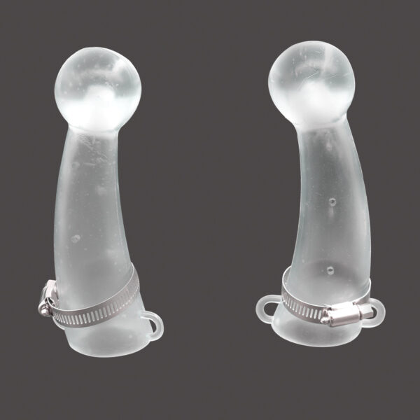 Silicone Ox Horn Protective Cover Calf Prevent Collision Tool of Cow Top Protection Silicone Horn Protects