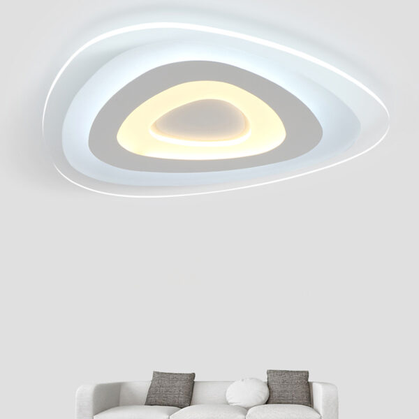 Shaped acrylic ceiling light