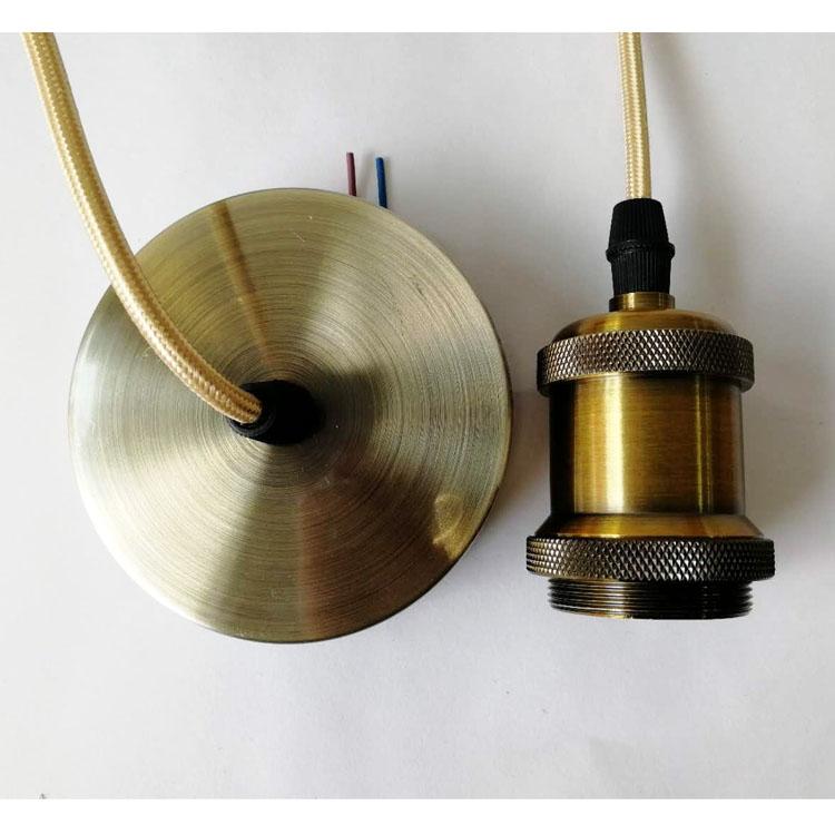 E27 hanging lamp head