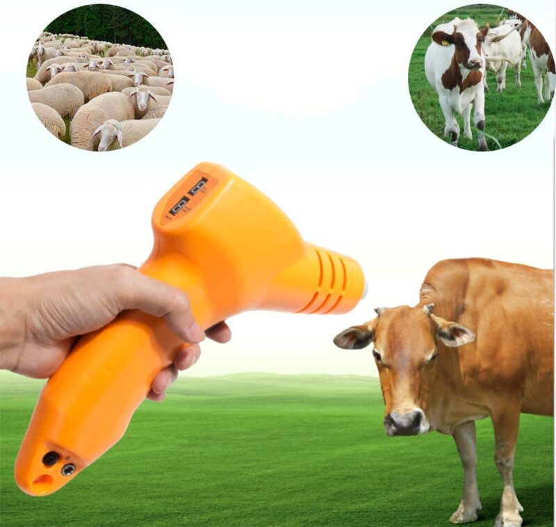 Electric Dehorning Tool Gun Style Bloodless Remove Horn Device for Cattle Sheep and Deer — Fast Heating