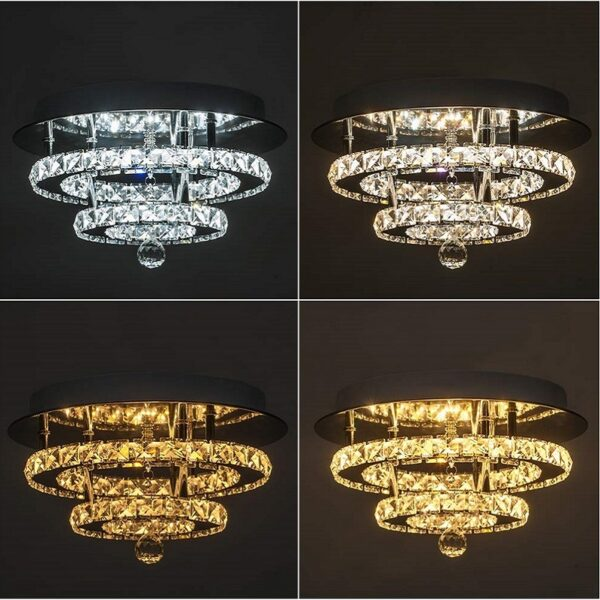 Round ceiling light