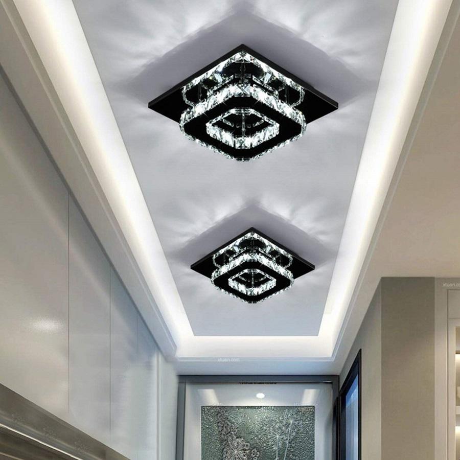 Square ceiling light