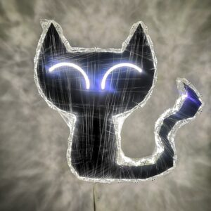 cat shape wall lamp