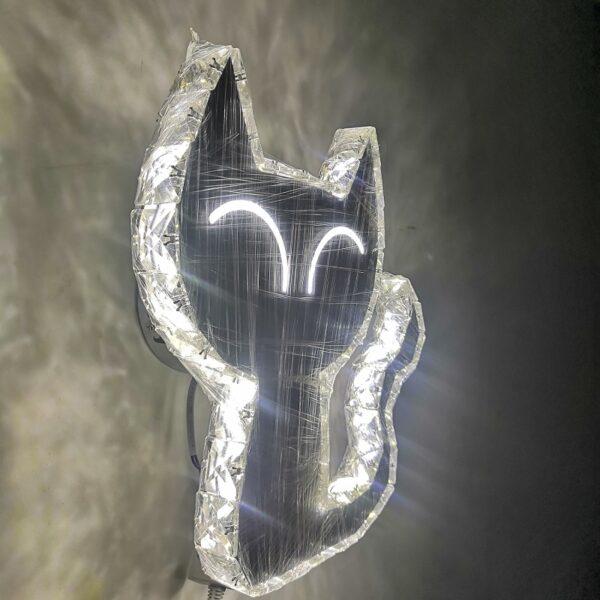 cat shape wall lamp